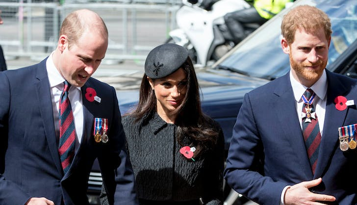 Prince William walking with Meghan Markle Prince William copy