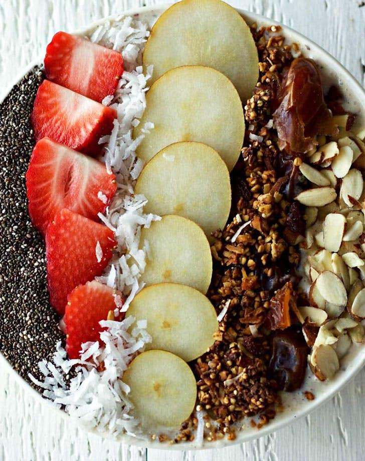 Probiotic Kefir Smoothie Bowl recipe