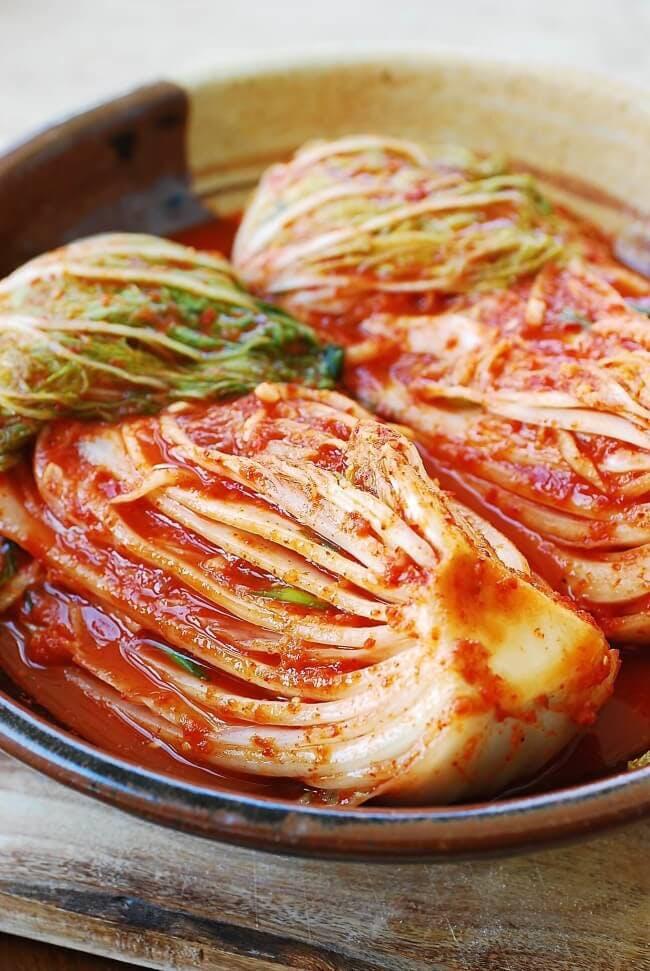 Probiotic rich kimchi recipe
