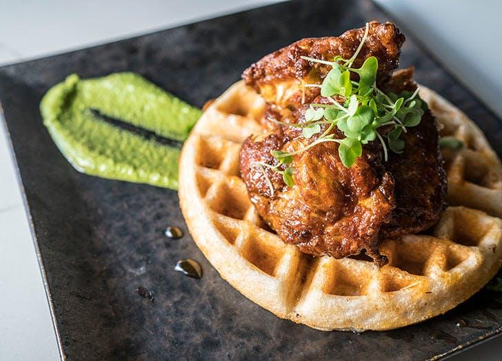 Rahi Uttapam Waffles
