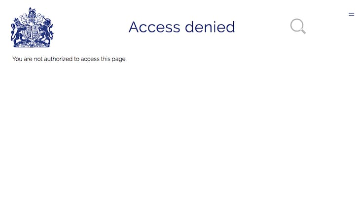 Royal famiyl website access denied page1