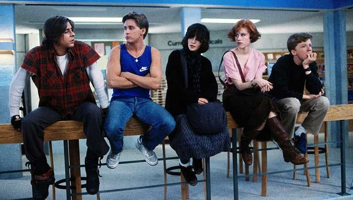 The Breakfast Club teen movie recommendation