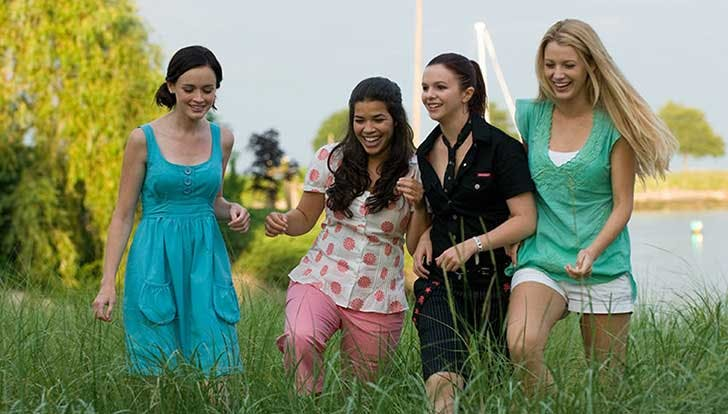 The Sisterhood of the Traveling Pants film