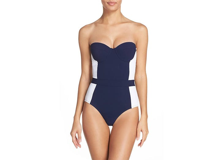 Tory Burch colorblack one piece