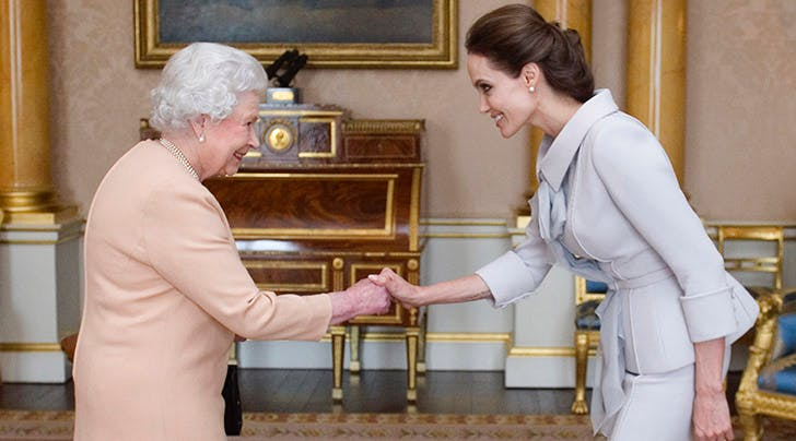 Angelina Jolie Says Queen Elizabeth Taught Her Kids a Very Important Lesson