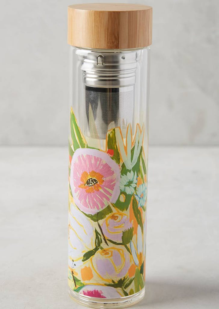 anthropologie infuser water bottle