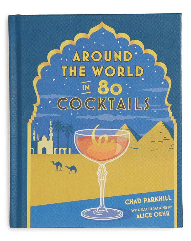 around the world in 80 cocktails cookbook