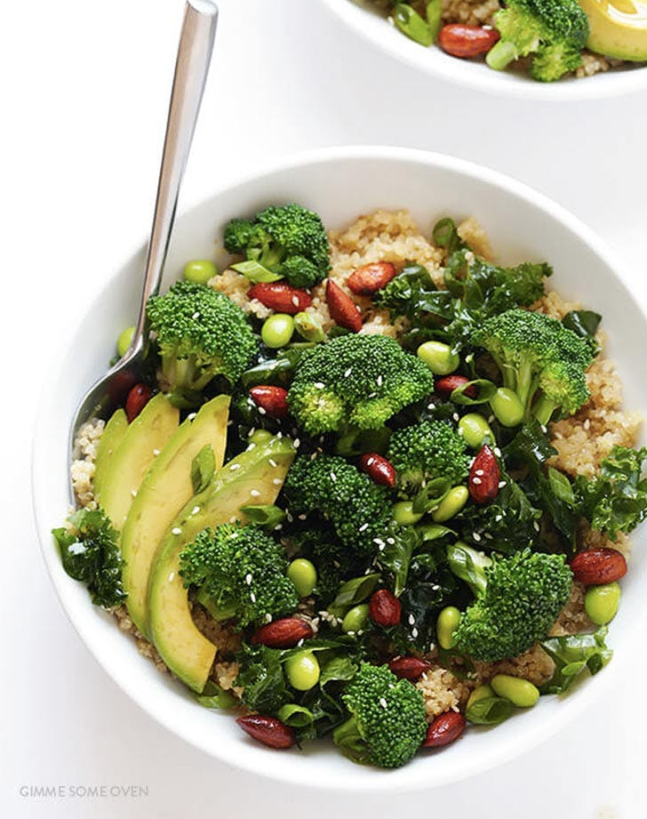 asian superfood quinoa bowl recipe