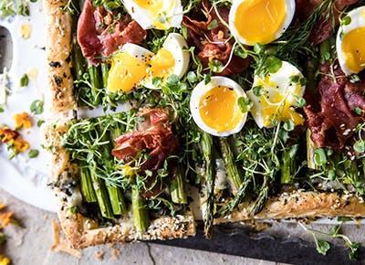 asparagus egg prosciutto tart everything spice recipe 290