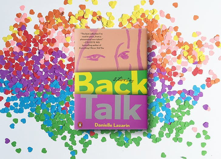 back talk danielle lazarin