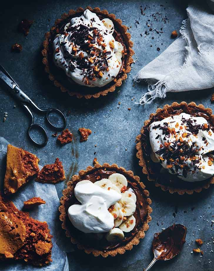 banoffee pie with honeycomb recipe