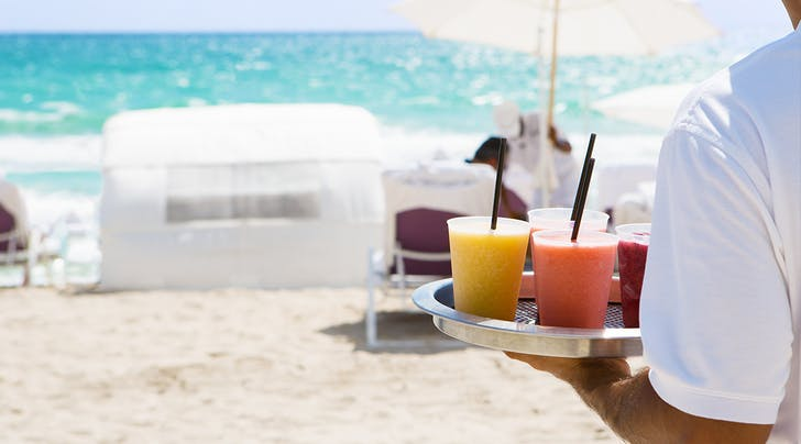 Your Hotel May Have 5 Stars, but *This* Hotel Has Beach Butlers All Summer Long