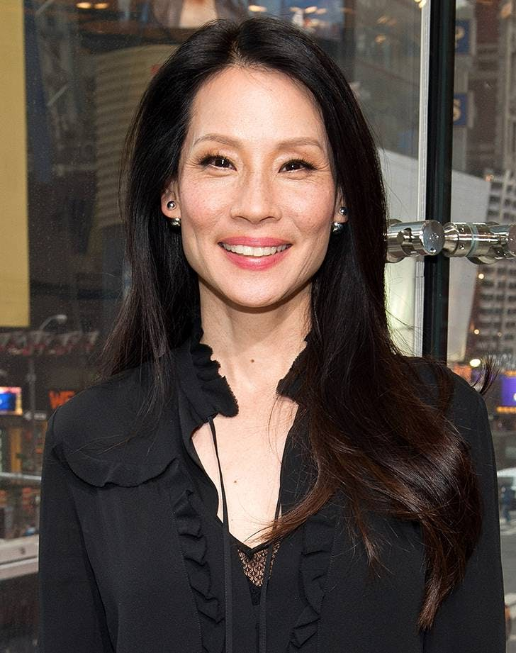 best haircuts over 40 lucy liu