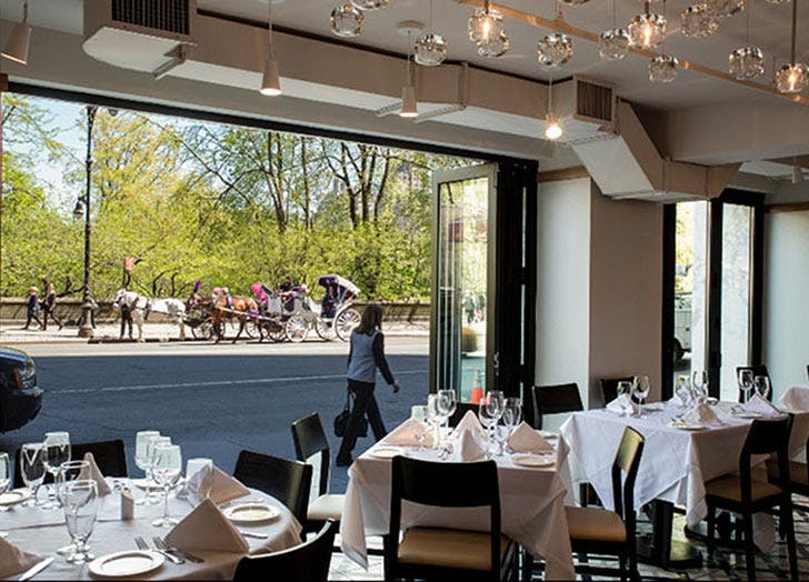 Restaurants With Views Of Central Park