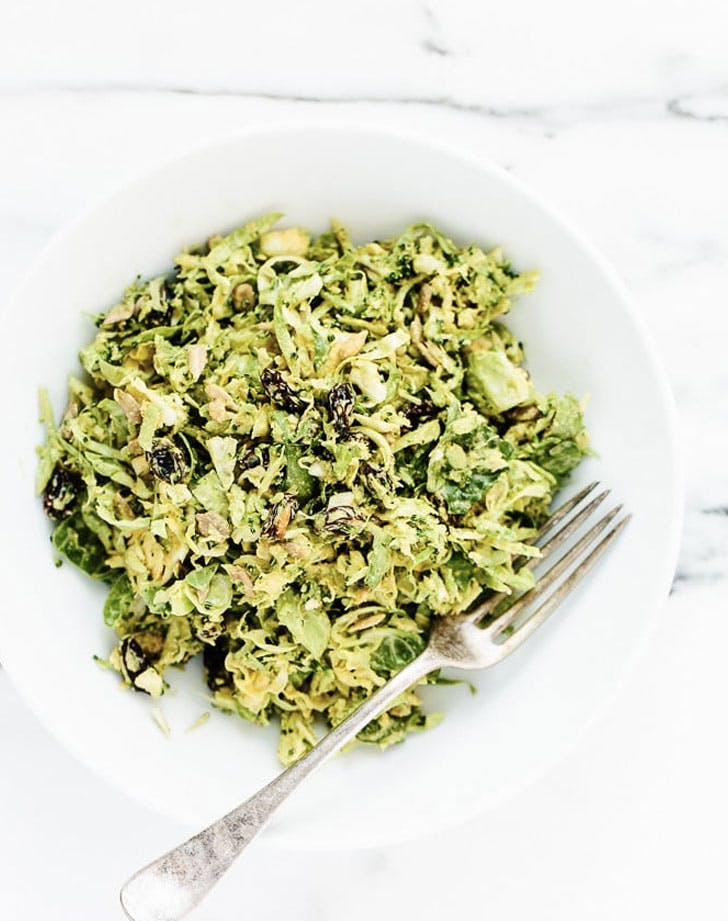 broccoli brussels sprouts with curry Dressing Recipe