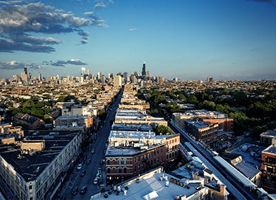 chicago city skyline400