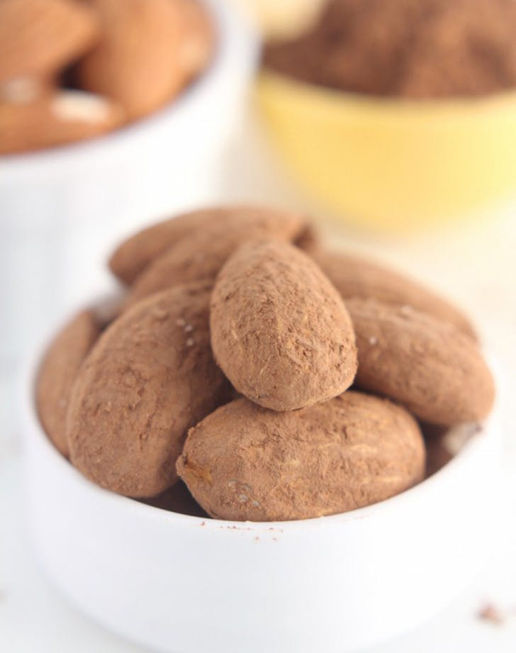 cocoa roasted almonds recipe