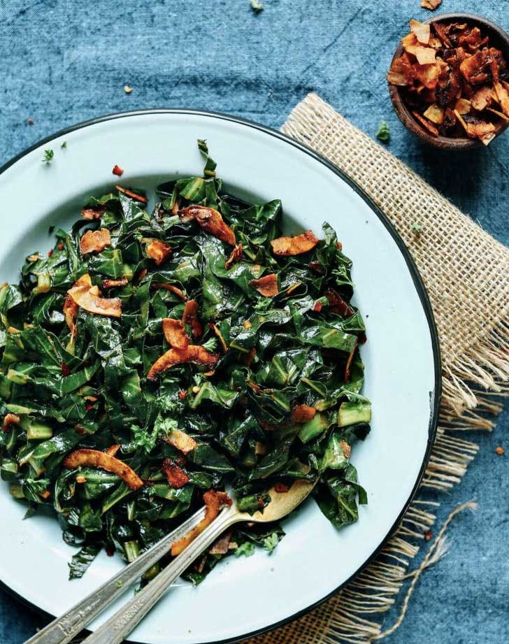 coconut collard greens recipe