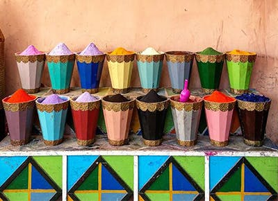 colorful cups on ledge400
