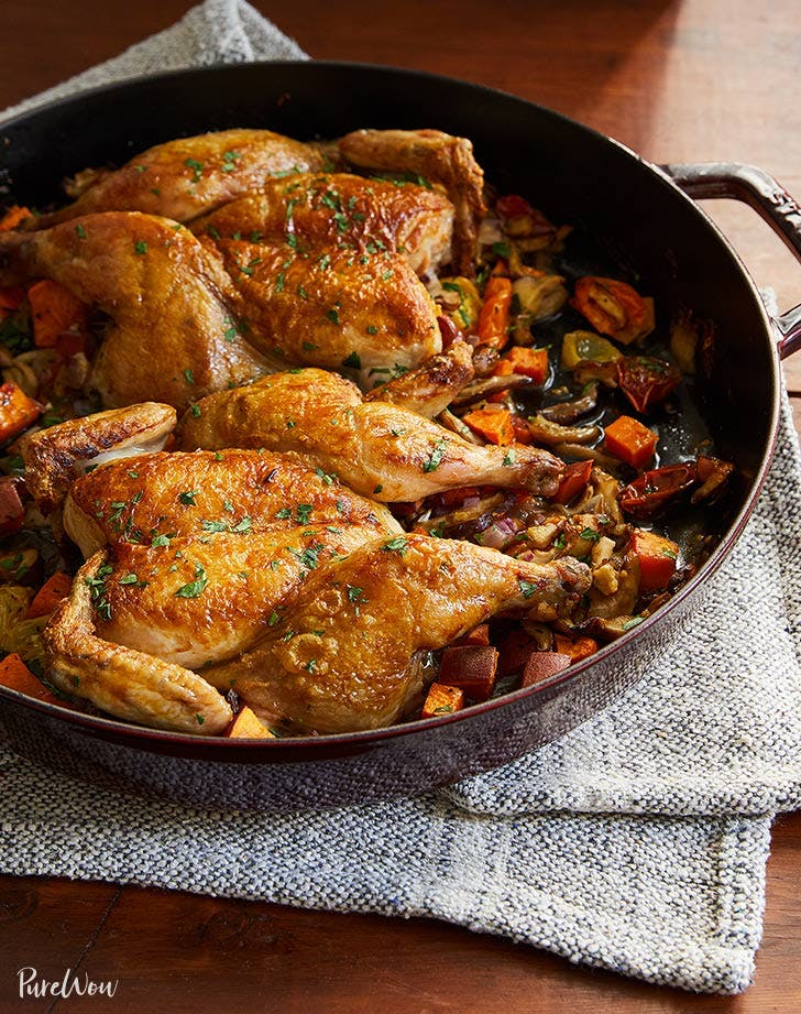 cornish hens under a brick recipe