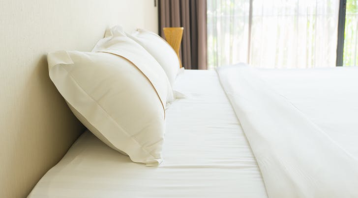 The Easiest Trick for the Crispest Bedsheets Ever