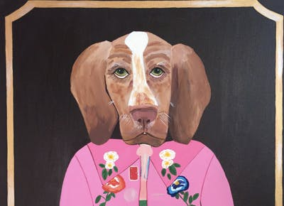 dog portrait 400