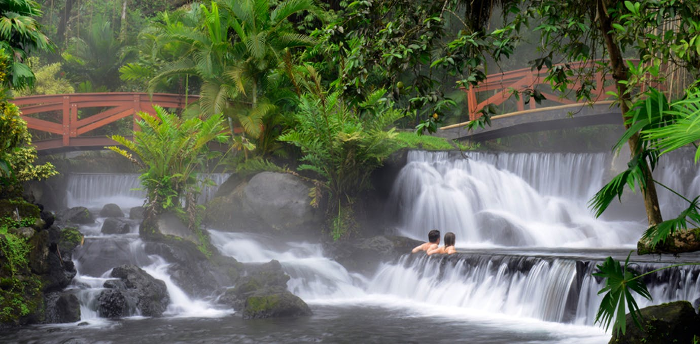 eco friendly Tabacon Thermal Resort and Spa in Costa Rica