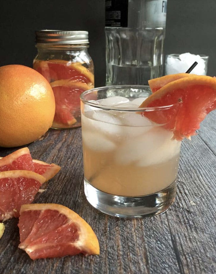 grapefruit ginger fizz recipe