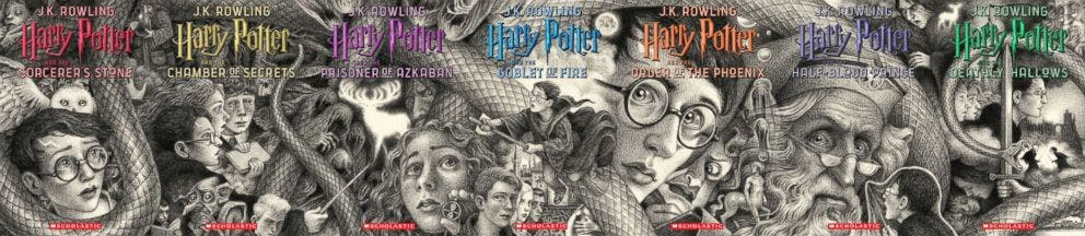 harry potter cover mural