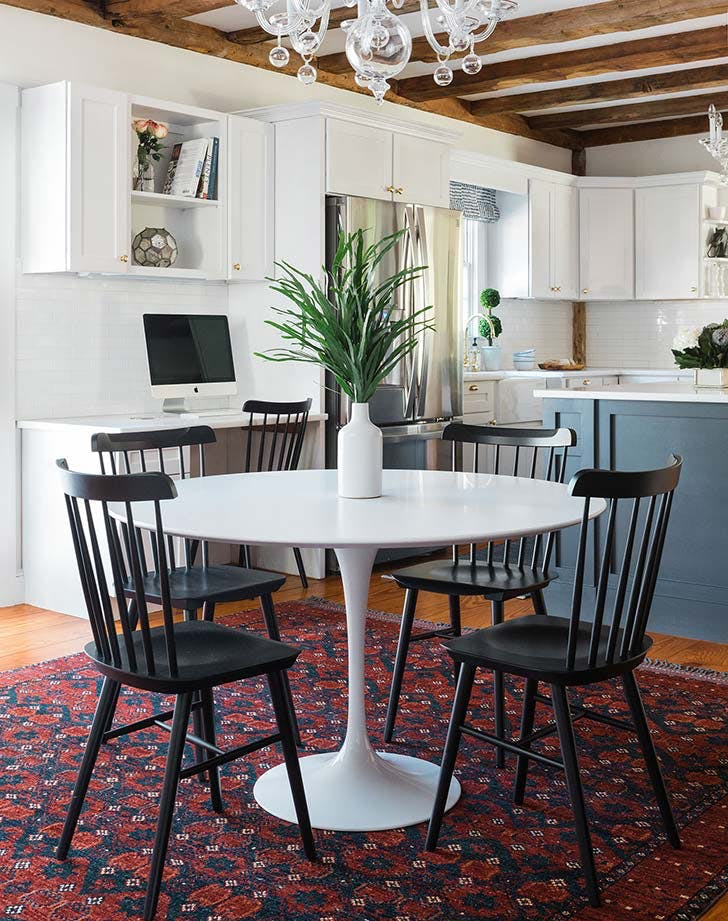 hingham home tour dining after 1