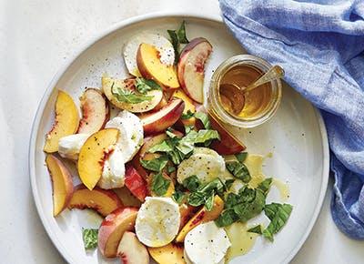 joanna gaines peach caprese recipe 290