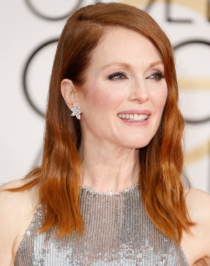 julianne moore with red bronze hair