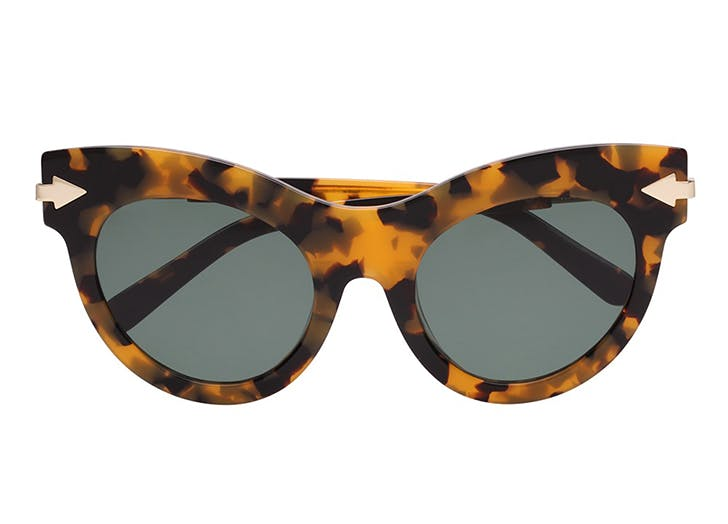 karen walker cat eye sunglasses