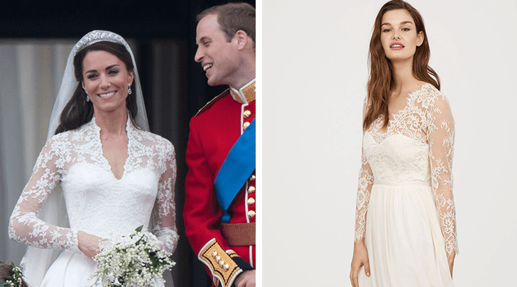 You Can Now Buy an Affordable Version of Kate Middletons Wedding Dress at H&M