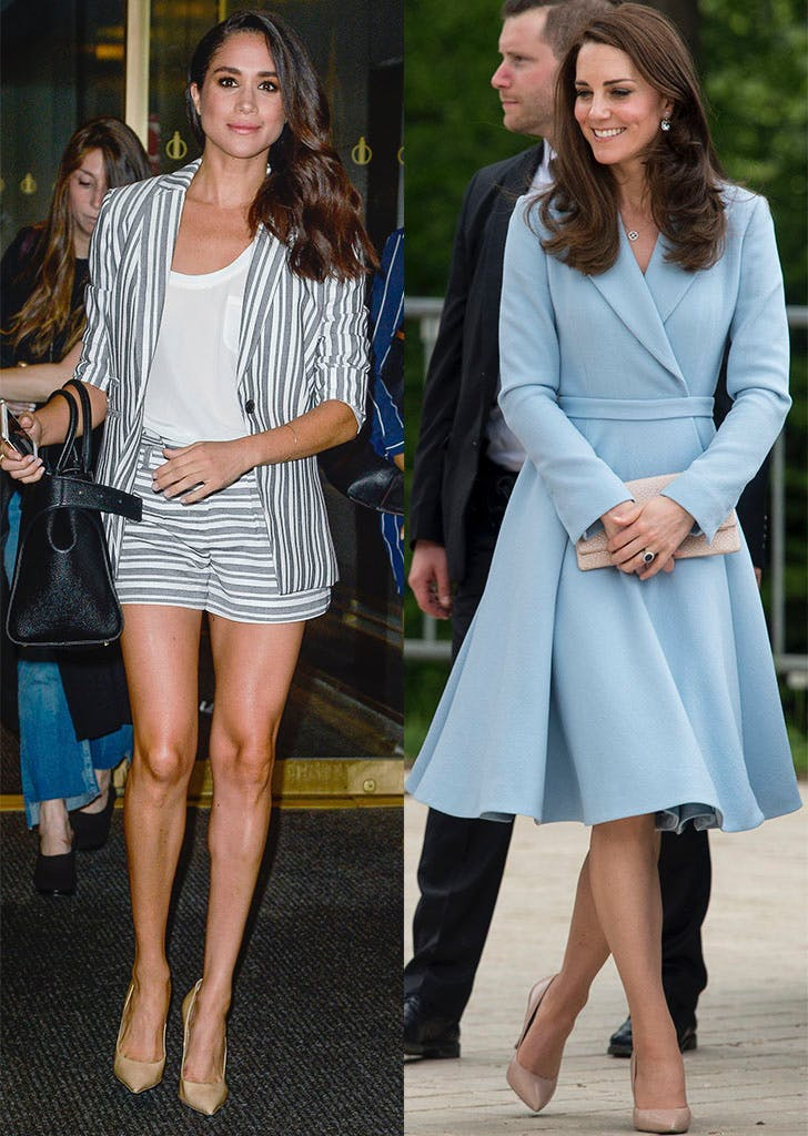 kate middleton meghan markle nude pumps 1