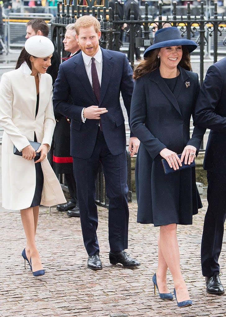 kate middleton meghan markle wear same shoes