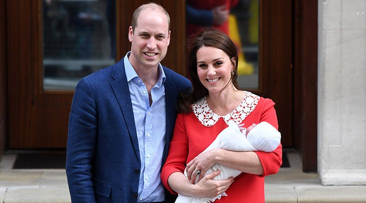 Heres Your First Look at Prince William & Kate Middletons New Baby Boy