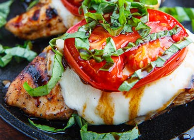 keto caprese balsamic grilled chicken recipe 290