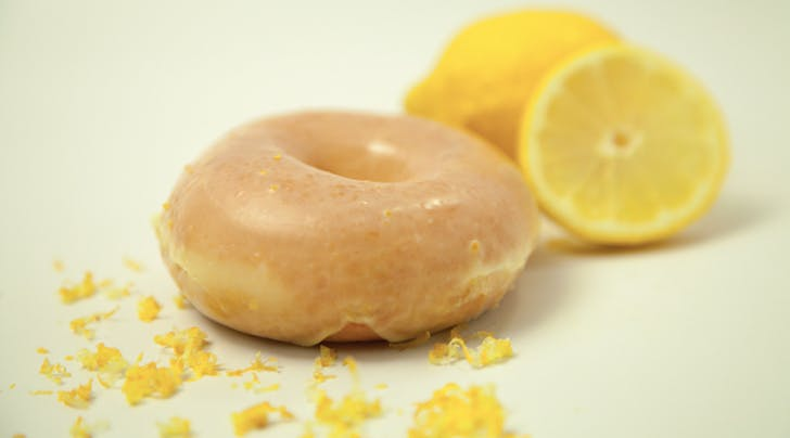 Krispy Kreme's Lemon Doughnut Is Back, but Only for One Week