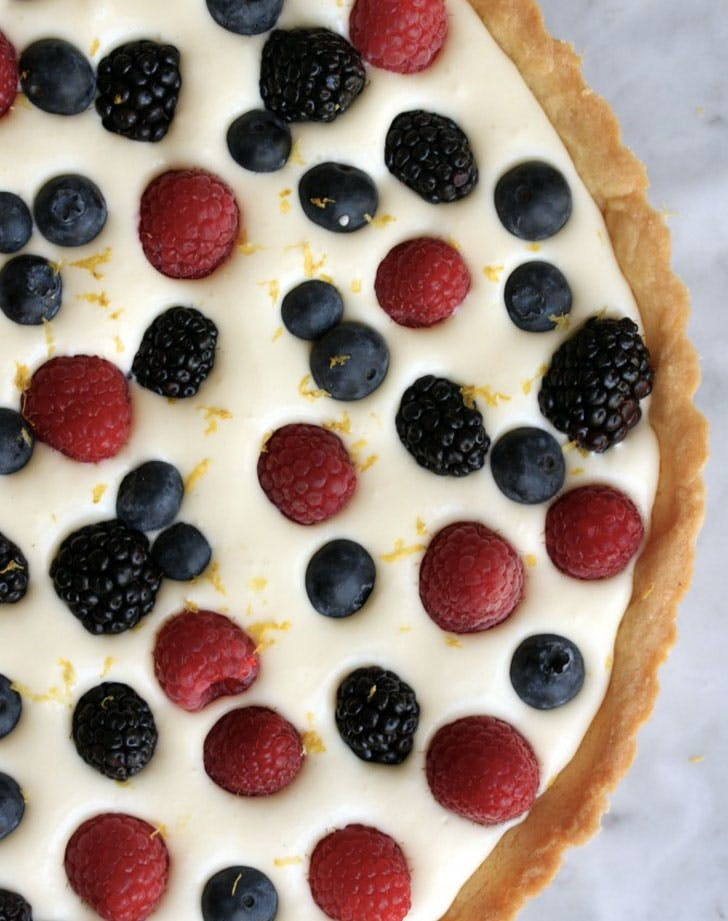 lemon curd mousse tart recipe