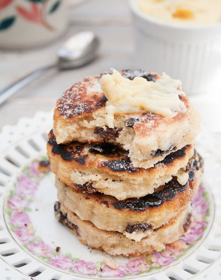 lemon welsh cakes recipe