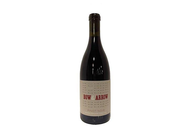 mfw wine co bow   arrow pinot noir hughes hollow vineyard
