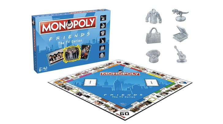 How You Doin? Monopoly Just Released a 'Friends Edition and the Pieces Are Delightful