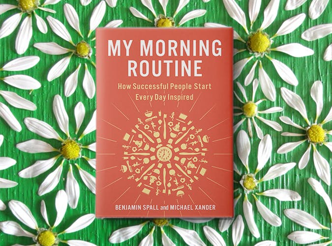 my morning routine book