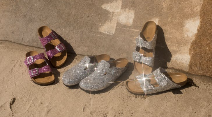 For the Shiny Hippie Inside Us All, Glitter Birkenstocks Just Dropped at Legit Fashion Boutiques