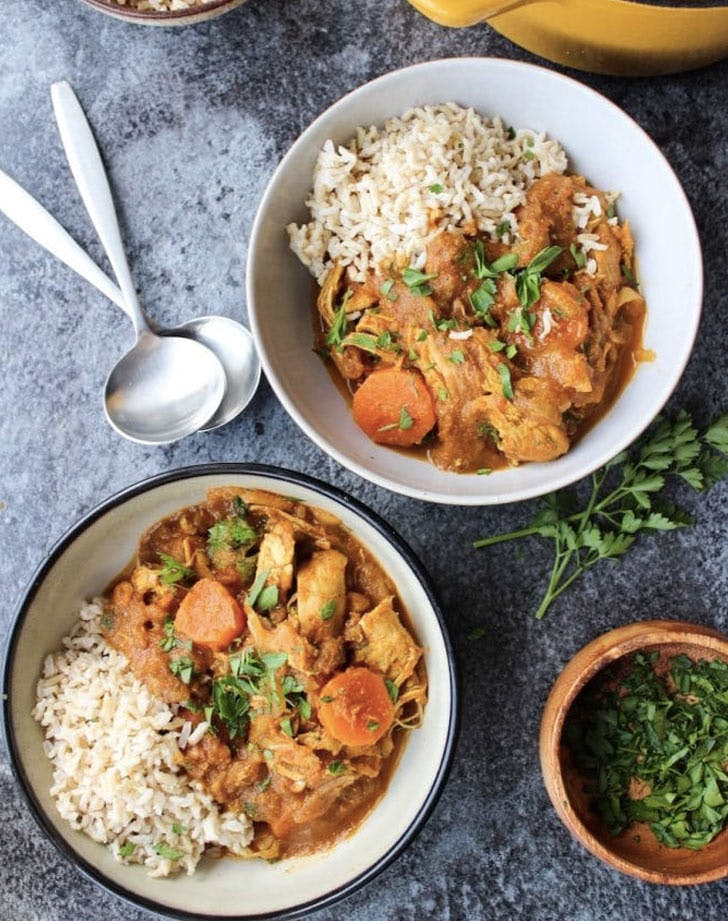 paleo moroccan chicken stew recipe