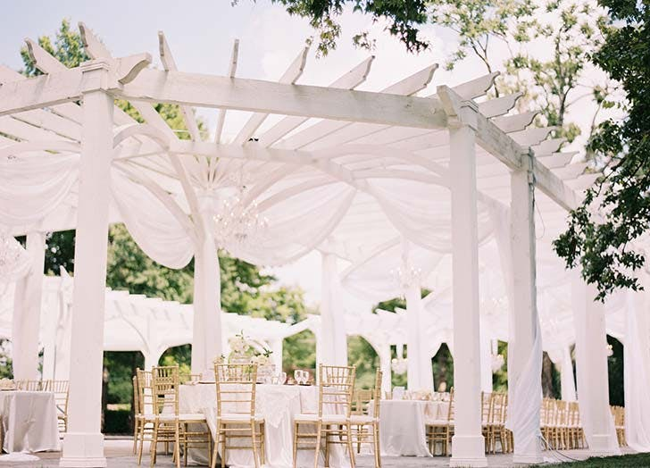 pergola outdoor wedding