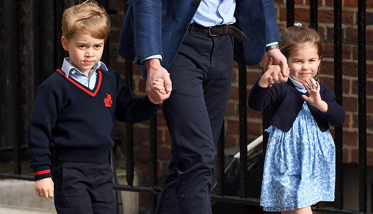 princess charlotte wave baby brother 2