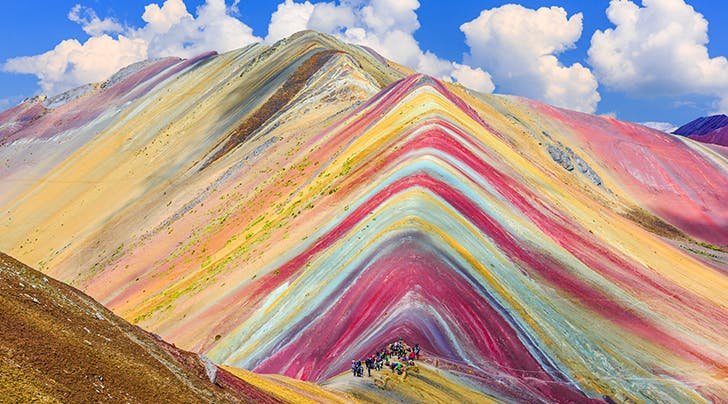 These Rainbow Mountains in Peru Look Like Theyre Straight Out of a Dr. Seuss Book