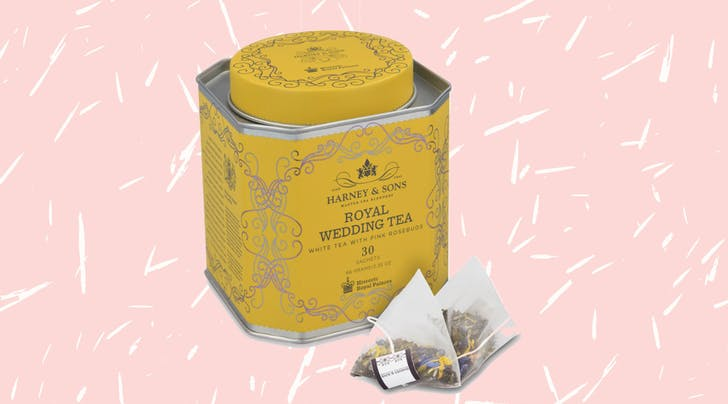 The Official Tea of Meghan and Harrys Royal Wedding Is Now Available to Buy (and It Has Pink Rosebuds)